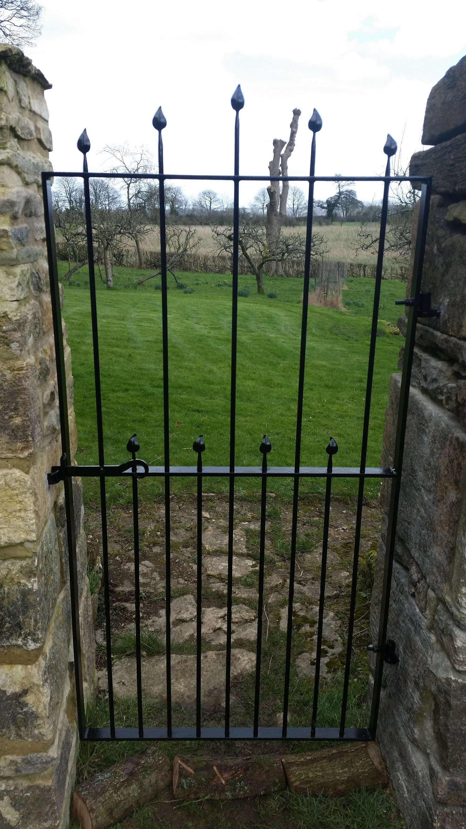 Woodcock House Gate